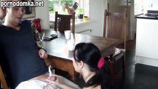 Два любовника сняли домашний трах на камеру