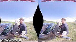 Обзор автомобиля от чешской порно звезды закончился перепихоном