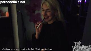 Лесбийское романтическое свидание с горячей блондинкой
