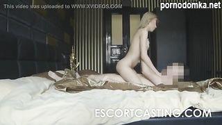 Иностранец на скрытую камеру снял еблю с русской проституткой из эскорта